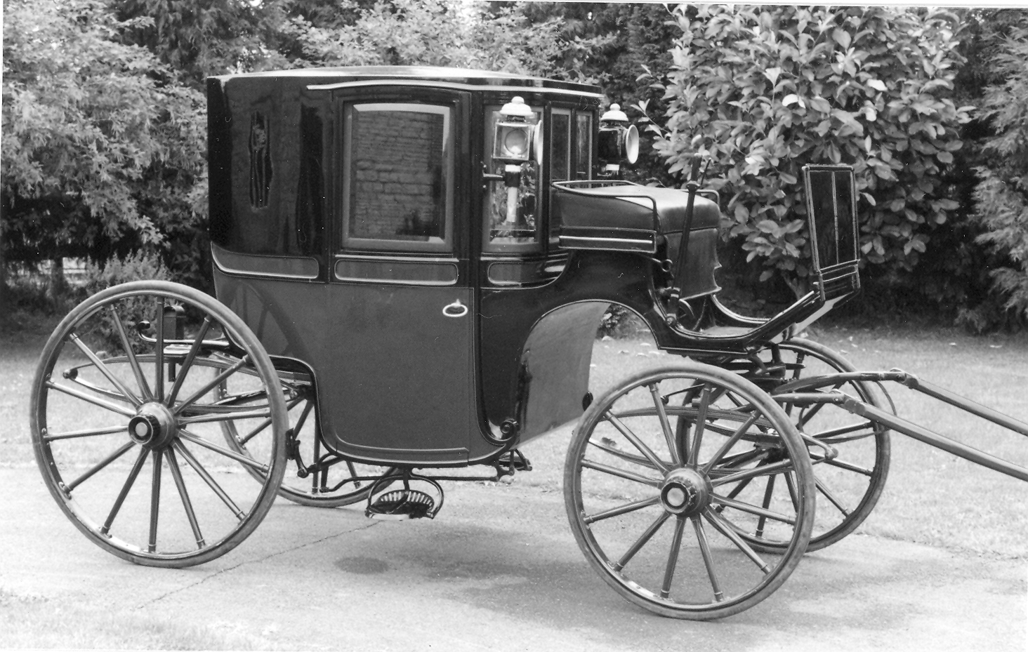 Brougham carriage for Car carriage